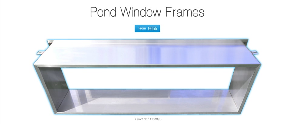 Koi pond windows instantpond atlantica gardens for Koi pond price