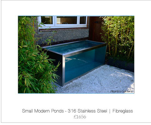 Shop atlantica gardens koi pond windows modern ponds for Contemporary koi pond design